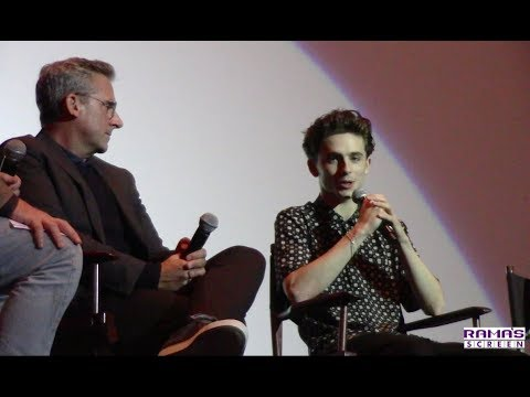 'BEAUTIFUL BOY' Q&A with Timothée Chalamet, Steve Carell and Amy Ryan
