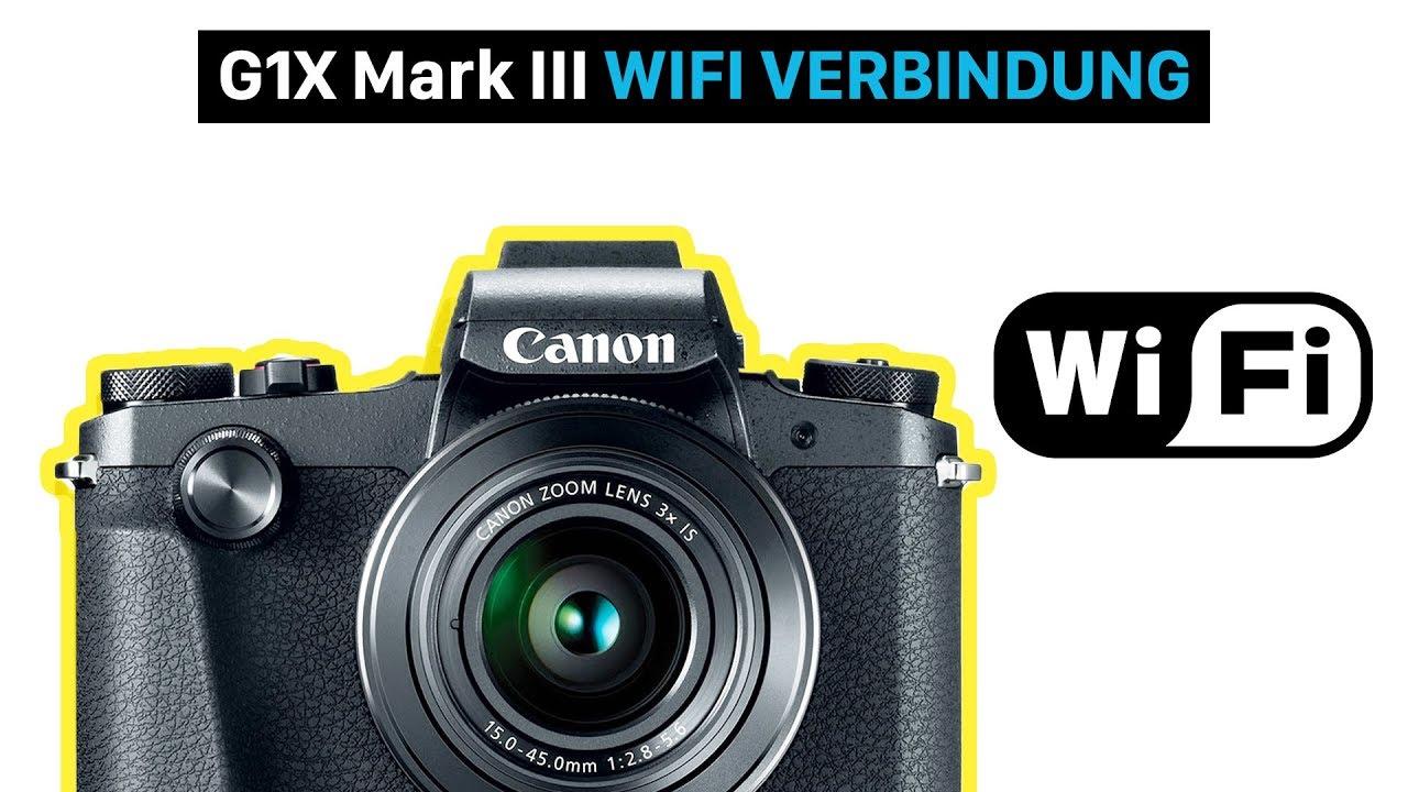 canon powershot g1x mark iii mit dem smartphone verbinden. Black Bedroom Furniture Sets. Home Design Ideas