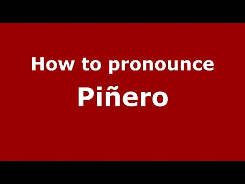 How to pronounce Piñero (Spanish/Argentina) - PronounceNames.com