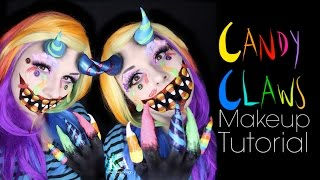 Candy Claws (Candy Monster) Halloween Makeup Tutorial - 31 Days of Halloween