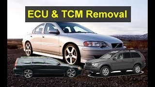 How to remove and install the ECU & TCM for Volvo cars that need the tool. - VOTD
