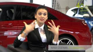 Nina Osenar: Če nisi pozoren, hitro spiješ preveč