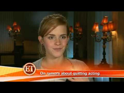 ET Talks To Emma Watson And Daniel Radcliffe About Magic And Real-Life Romance