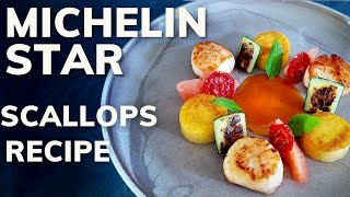 How To Cook Scallops At Home Like A Pro (Michelin Star Recipe)