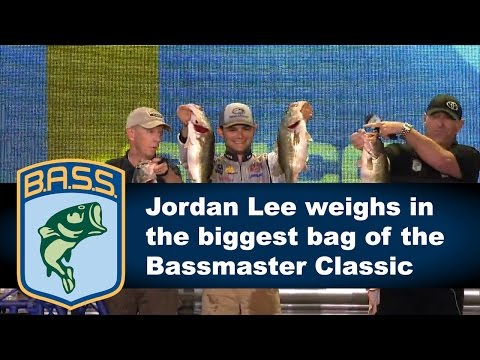 Jordan Lee wins the Bassmaster Classic with monster bag