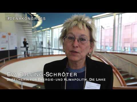 Eva Bulling Schröter, Die LINKE, zur Zukunft der Energiewende #denakongress