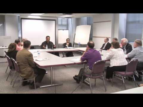 Jesse Jackson visits Rockford Register Star Editorial Board part 4 of 7