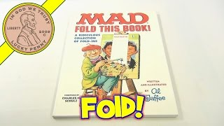 Mad Magazine Fold This Book, Collection of Fold Ins, 1997 Al Jafee