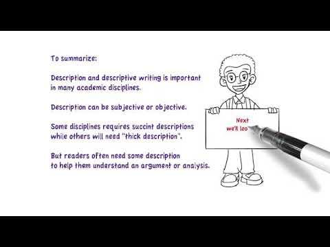Видео Writing descriptive dissertation
