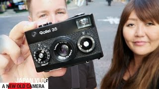 A NEW OLD CAMERA - JAPAN VLOG 3
