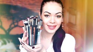 видео Кисти для макияжа глаз: какая для чего необходима и какие кисти нужны для макияжа