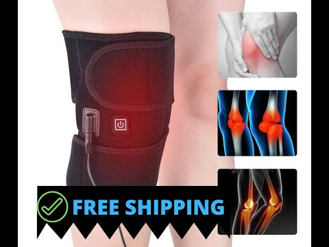 Equity Sweat- Heated Knee Wrap - USB Rechargeable (Free Shipping)