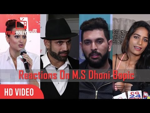 Reactions On M.S Dhoni The Untold Story |...