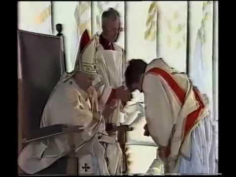 Finbar Wright - Saint Pope John Paul II Ireland 1979