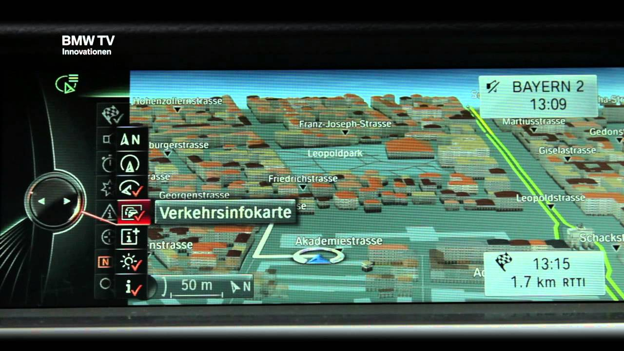 Bmw Connected Drive Das Neue Bmw Navigationssystem