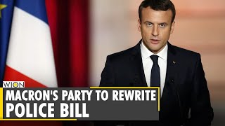France President Macron s administration agrees to rewrite police bill France protest