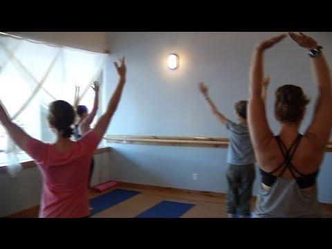 Plymouth yoga studio stretches into bigger space
