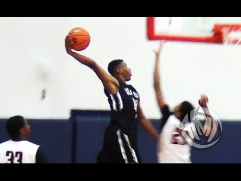 quality design 11029 27096 Dennis Smith POSTERIZES Defender At Nike EYBL! CRAZY Dunk!