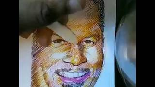 FOX SPORTS: CHRIS BROUSSARD🏀!!! TIME LAPSE DRAWING!!!