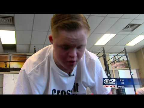 Down Syndrome Teen Keeping Heart Healthy