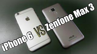 iPhone 6 vs Asus Zenfone 3 Max | Crazy Comparison
