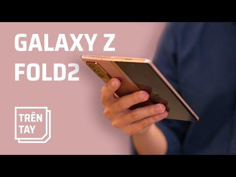 Trên tay Samsung Galaxy Z Fold2 5G