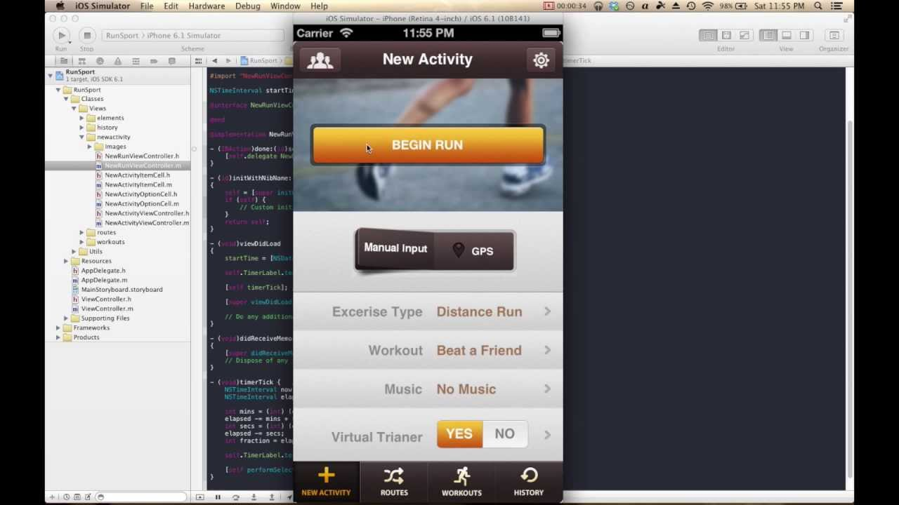 How To Make iPhone/iPad Apps: Build An iOS App In 10 Minutes (Part 2 ...