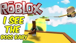ESCAPE the BOSS BABY OBBY - Ella and Jasmine Play Roblox