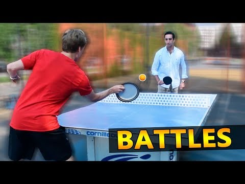 Ping Pong Battles against Strangers