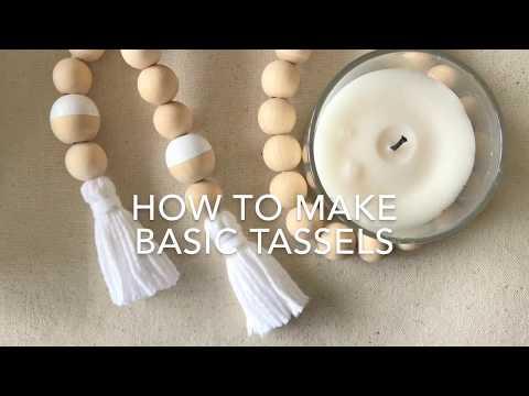 How To Make Basic Tassels