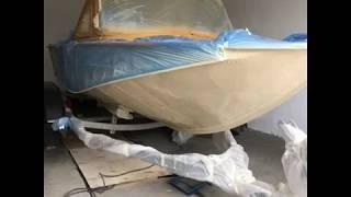 реставрація човни Дніпро