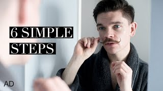 6 Steps To The Perfect Moustache   How To