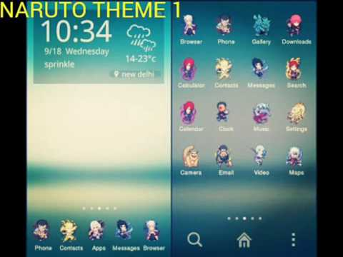 NARUTO THEME ON ANDROID