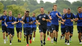 Birmingham City's First Full Training Session Back