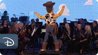 'the music of pixar live!' meet-up | walt disney world