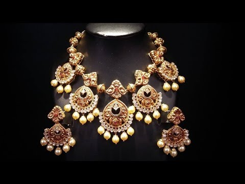 Simple And Gorgeous Traditional Necklace Designs 2018