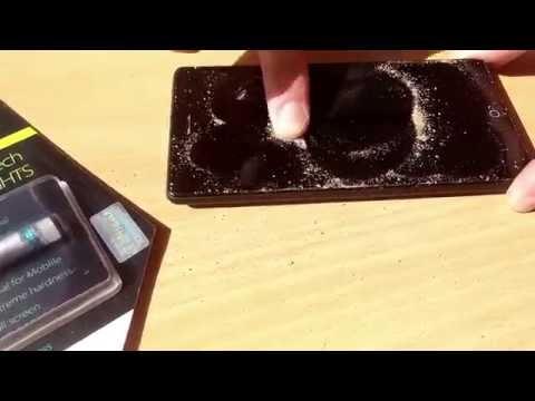 видео: Жидкая защита экрана телефона broad hi-tech nano. Процесс нанесения и Тестирование.