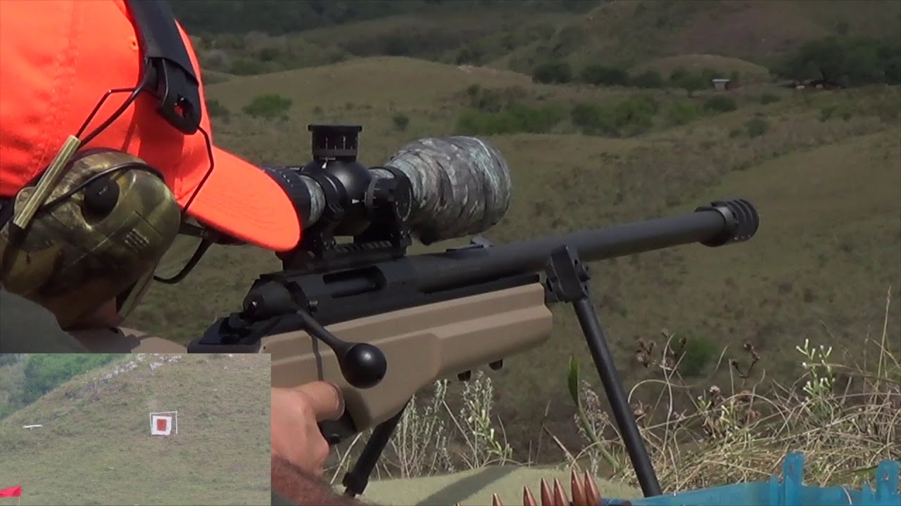 Long Range Sako 338 Lapua Magnum  & 300 WInchester Magnum -  By Fly Camera