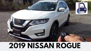 2019 Nissan Rogue SL AWD Platinum ProPilot Detailed Walk Around and First Look