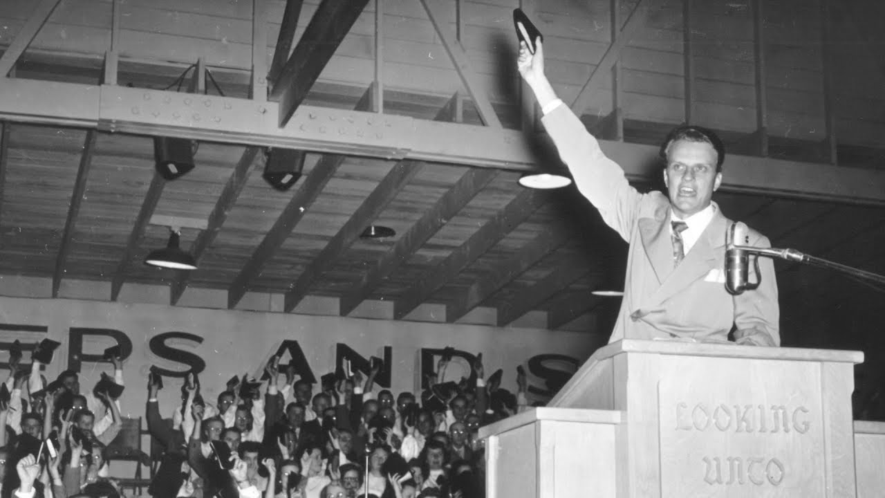 Billy Graham on His Early Preaching Techniques