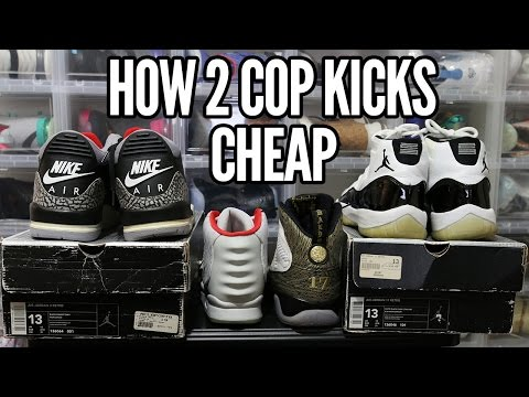 How 2 Cop Kicks 4 Cheap (Never Over Pay Again!)