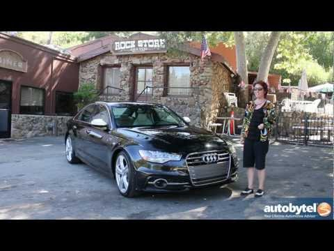 Audi S6 S7 S8 Test Drive & Luxury Sports Car Video Review