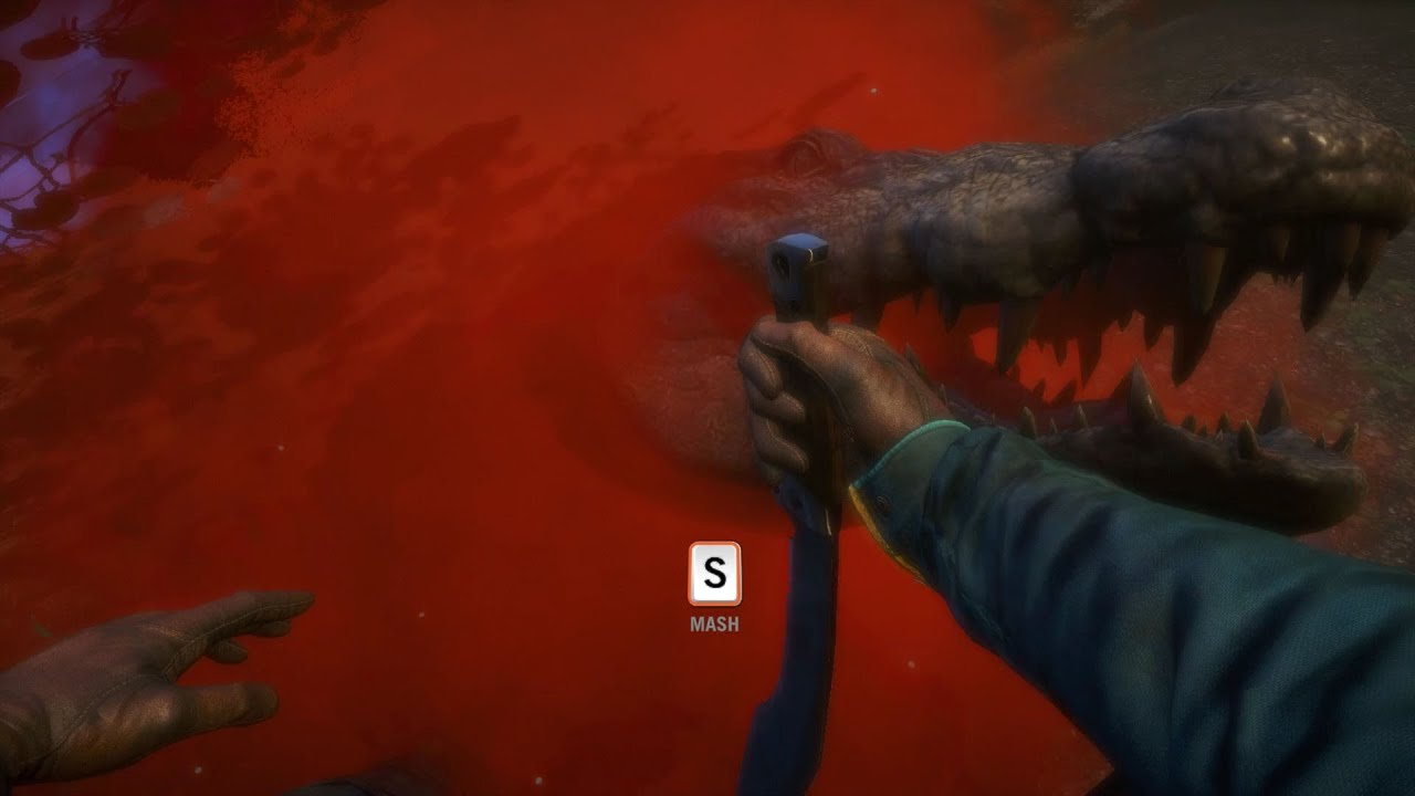 Far Cry 4 - Crocodile Attack Animation (PC HD) [1080p ...