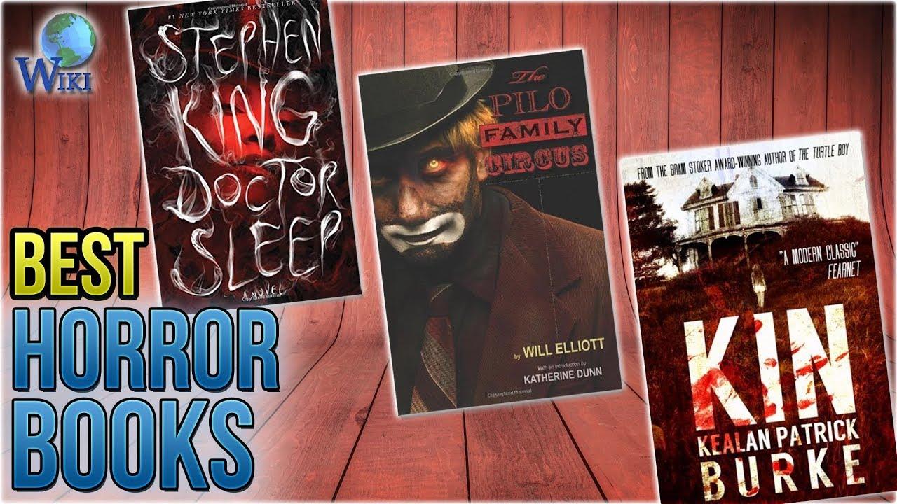 10 Best Horror Books 2018 Youtube