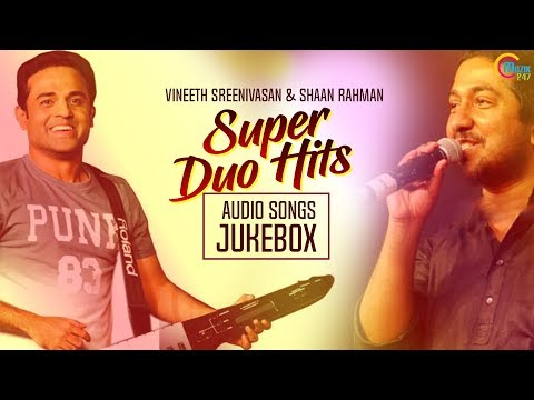 Shaan Rahman & Vineeth Sreenivasan Super hit songs| Malayalam Nonstop songs with Callertune codes