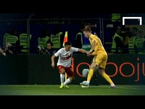 Amazing flip-flap skill - Andriy Yarmolenko