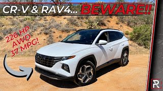 The 2022 Hyundai Tucson is a Turbo-Electric Sledgehammer in a Cutthroat SUV Segment