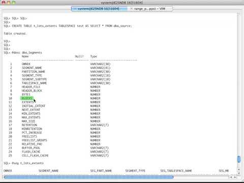 Oracle Full Table Scans, Direct Path Reads, Object Level Checkpoints, ORA 8103s (old Videos)
