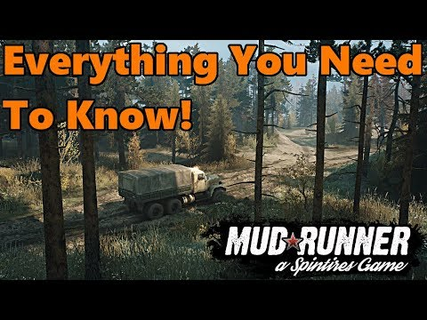 EVERYTHING You Need to Know About SpinTires: Mud Runner | Vehicles, Release date, Mods, and More!