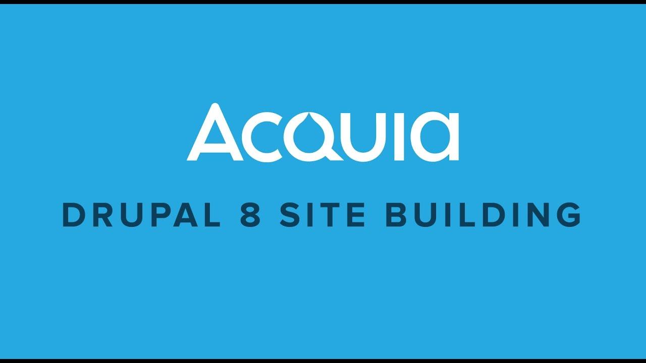 Drupal 8 site building lesson 02 plan youtube drupal 8 site building lesson 02 plan acquia xflitez Images